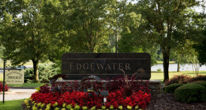 Entrance to Edgewater of Madison, AL