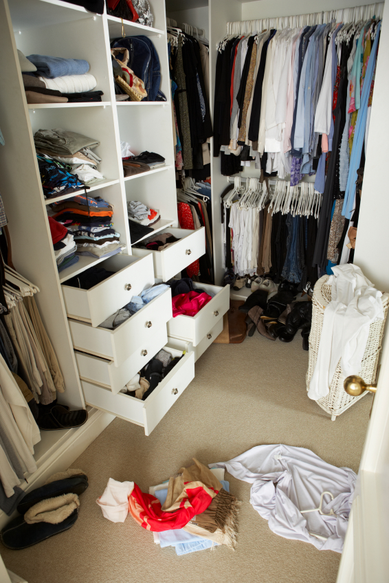 Untidy closets hurt when selling your home