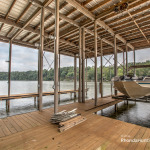Waterfront property - Lower level of boathouse