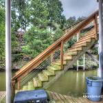 Boathouse stairs
