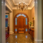 Grand entrance to greet your guests