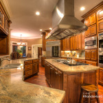 Kitchen of luxury Waterfront property