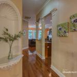 Hallway to kitchen